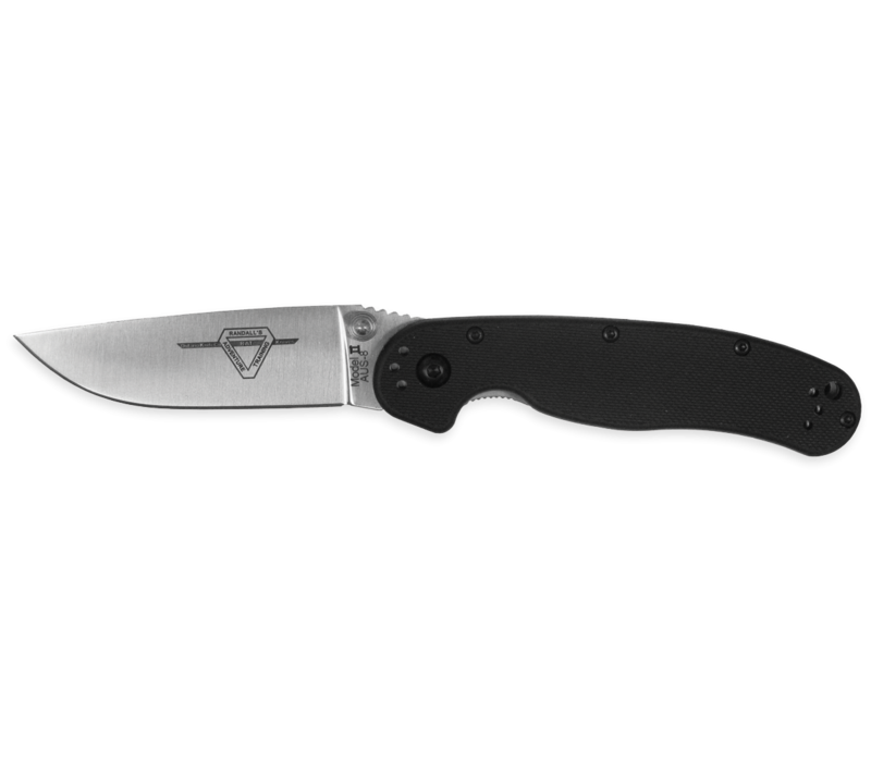 8860--Ontario, RAT II SP w/ Nylon 6 Handle and AUS-8 Stainless Blade