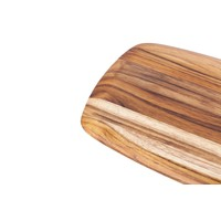 202--TeakHaus, Elegant Collection - Gently Rounded Edge - Rectangle - 12x8x0.55