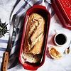 Emile Henry 345503--Emile Henry, Italian Bread Loaf Baker 2.75 Qt. (Burgandy)