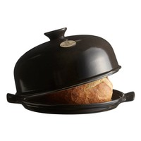 795508--Emile Henry, Bread Cloche (Charcoal)