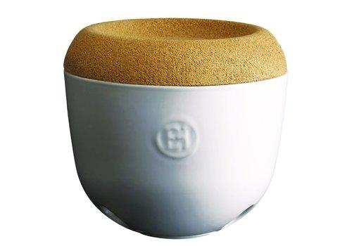 Emile Henry 108763--Emile Henry, Garlic Pot (Creme)