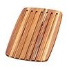 Teak Haus 409--TeakHaus, Edge Grain Essential Collection - Rectangle - Bread Board - 16x11x0.55