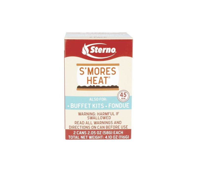 20262S--Sterno, Sterno S'mores Heat 2PK Single