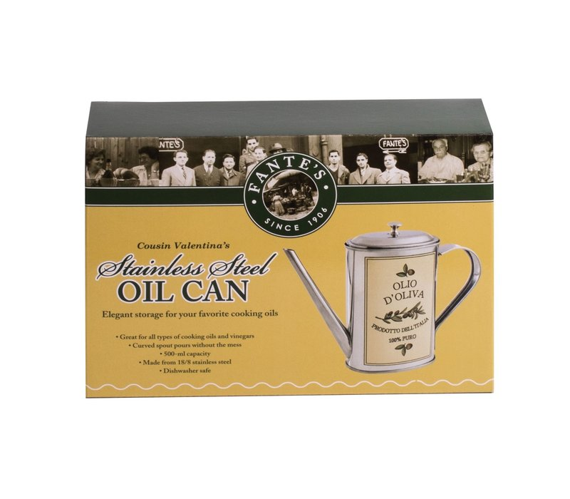 43831--HIC, Cousin Valentina's Olive Oil Can