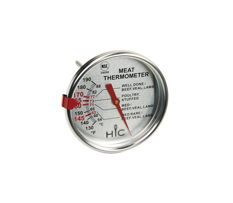 29008--HIC, Large Face Meat Thermometer