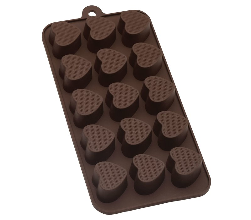 43749--HIC, Heart Shaped Chocolate Mold