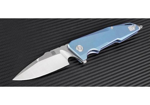 Artisan 1706G-BU--Artisan, Predator, Blue Titanium, S35VN Steel