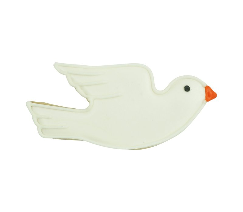 "1269/WS--R&M, Flying Dove 4.5"" CC White (Single)"