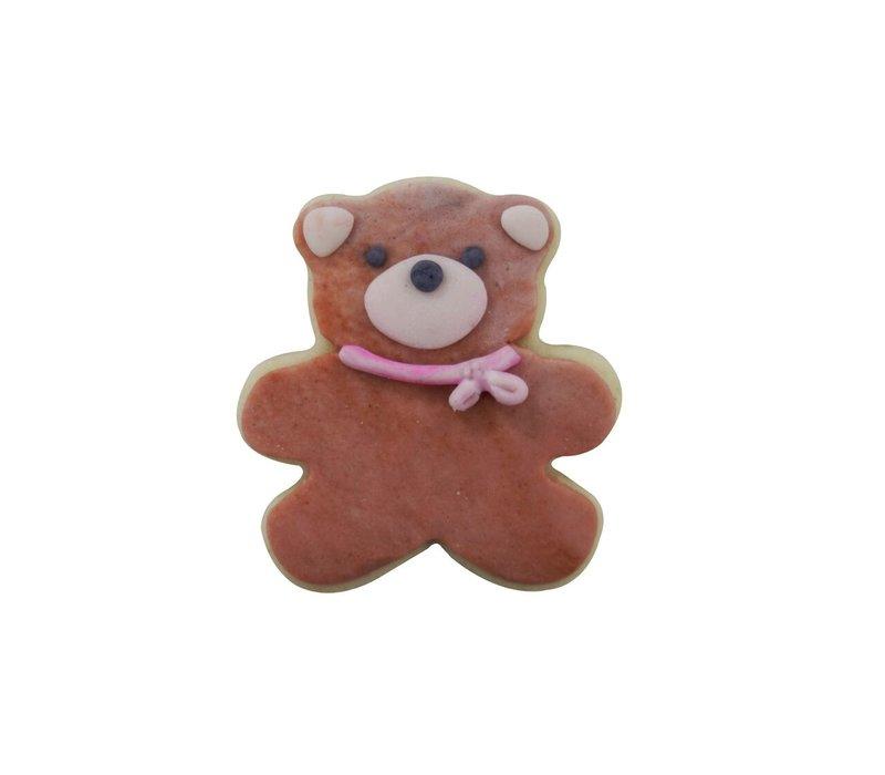 """1540/WS--R&M, Mini Teddy Bear White CC 1.75"""" (Single)"""