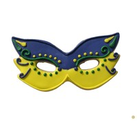 "0934S--R&M, Mardi Gras Mask CC 4"" (Single)"