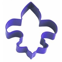 "1141/US--R&M, Fleur De Lis CC 4.5"" Purple (Single)"