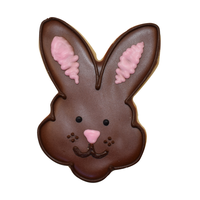 "0966/WS--R&M, Bunny Face  CC 3.5""White (Single)"
