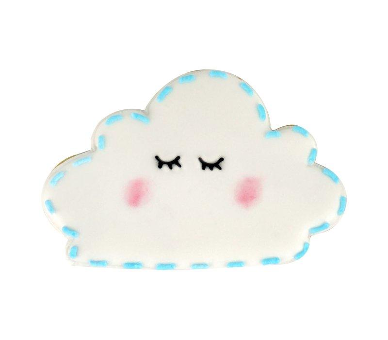 "0869/BS--R&M, Cloud CC 4"" Blue (Single)"
