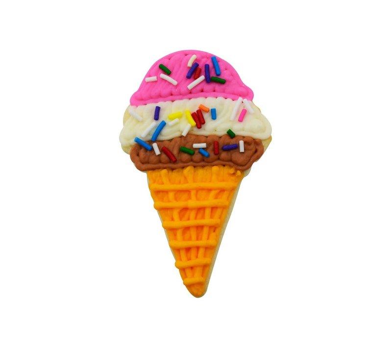 "1300/YS--R&M, Ice Cream Cone CC 4"" Yellow (Single)"