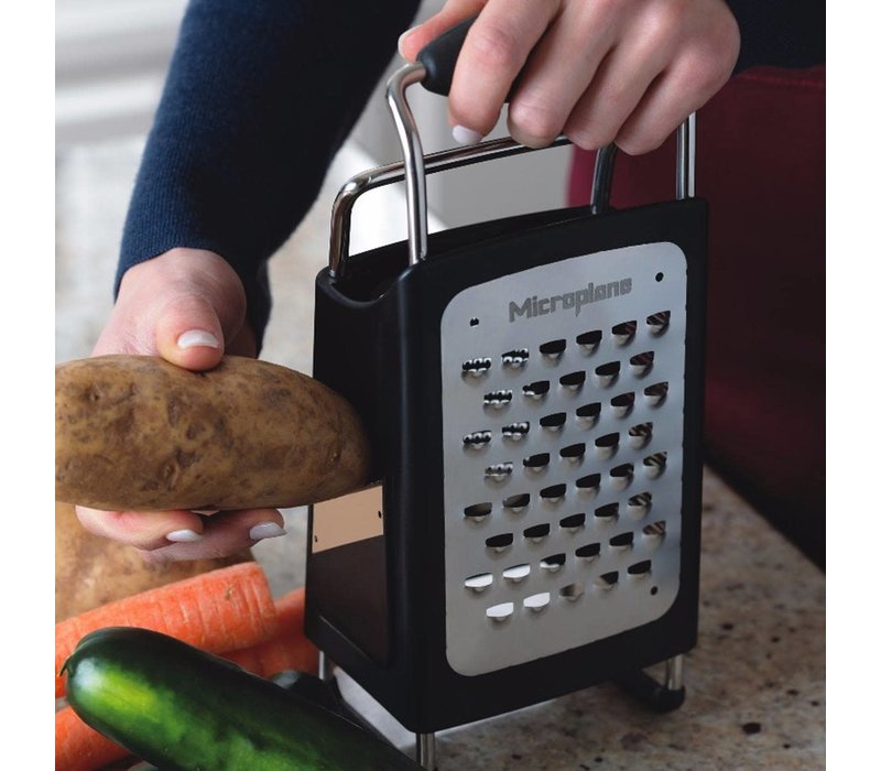 34006--Microplane, 4-Sided Box Grater