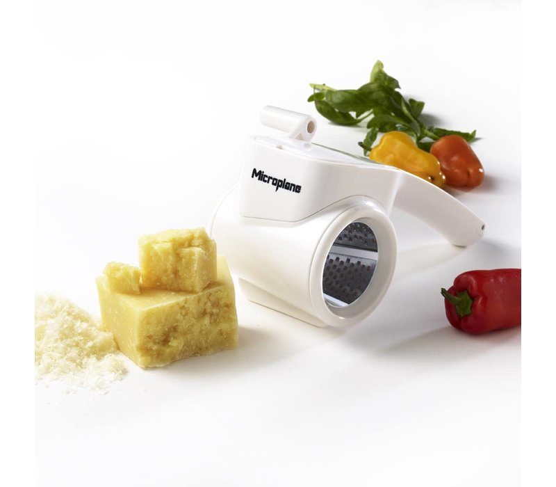39304--Microplane, Fine Rotary Grater - White