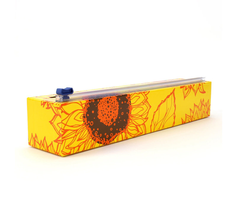 (Discontinued)9903--Allen Reed, Sunflower-ChicWrap Dispenser