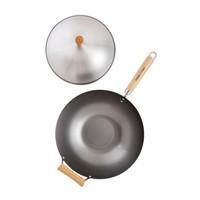 97005-- HIC, Carbon Steel Wok Set, 4 pc set