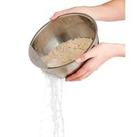 97123--HIC, Stainless Steel Hak Rice Washing Bowl