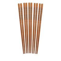 "97026--HIC, Silk Wrapped Chopsticks Bamboo 9"", 5 pairs"