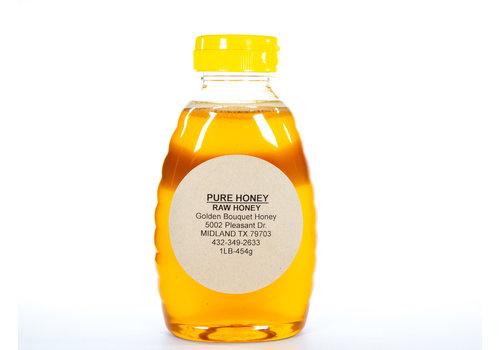 Golden Bouquet Honey GBH--Golden Honey, 1lb Jar of Honey