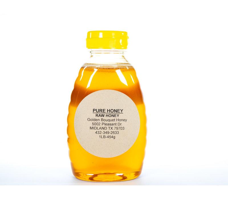 GBH--Golden Honey, 1lb Jar of Honey