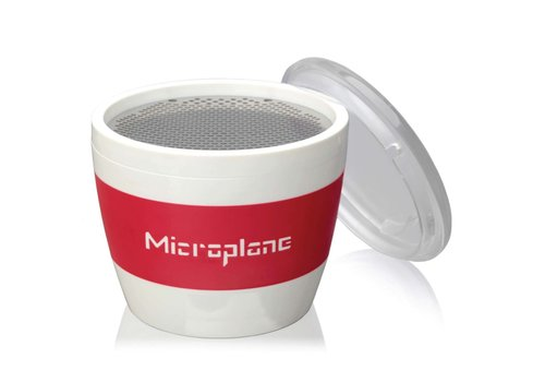 Microplane 34100--Microplane, Cup Grater - Spice - Red