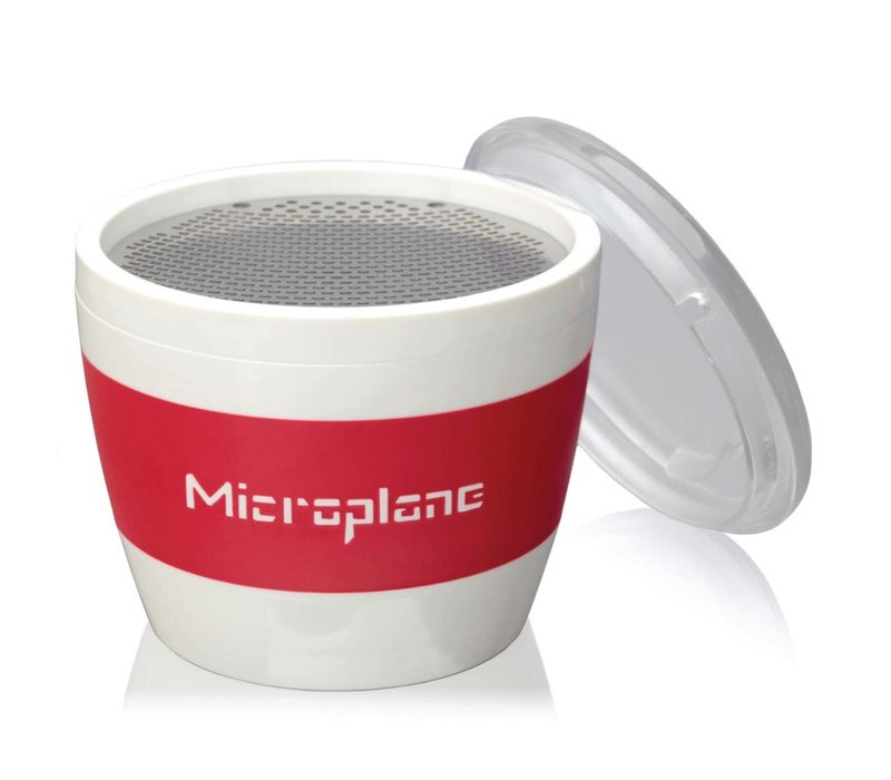 34100--Microplane, Cup Grater - Spice - Red