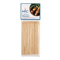 "4412--HIC, Skewers Bamboo 6"""