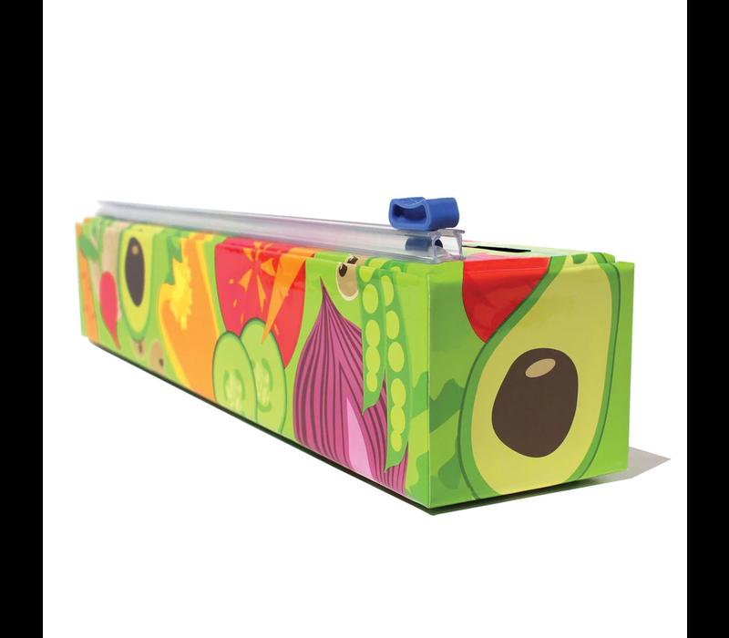 4003--Allen Reed, Veggies-ChicWrap Dispenser