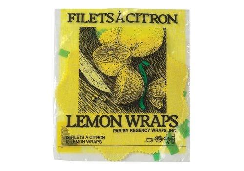 HIC 8098-- HIC, Lemon Wraps (12 wraps/ribbons)