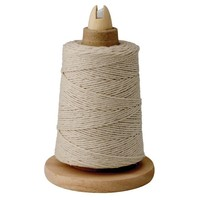 RW1675-- HIC, Cooking Twine w/ Wooden Holder and Metal Cutter 550 ft