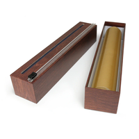 (Discontinued) 1940--AllenReed, Red Wood Grain ChicWrap Dispenser