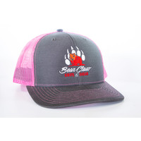 Century Graphics, Bear Claw Hat--Pink