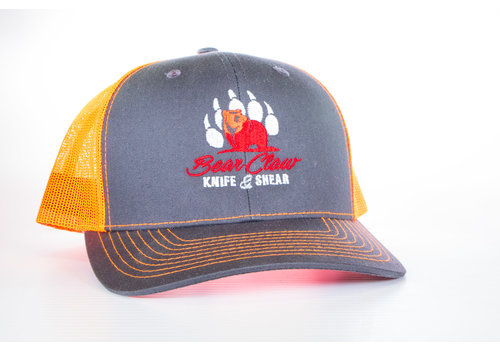 Century Graphics Century Graphics, Bear Claw Hat--Gray & Orange