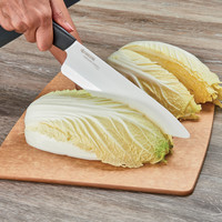 """122098--Kyocera, Revloution White 8"""" Professional Chef's Knife"""