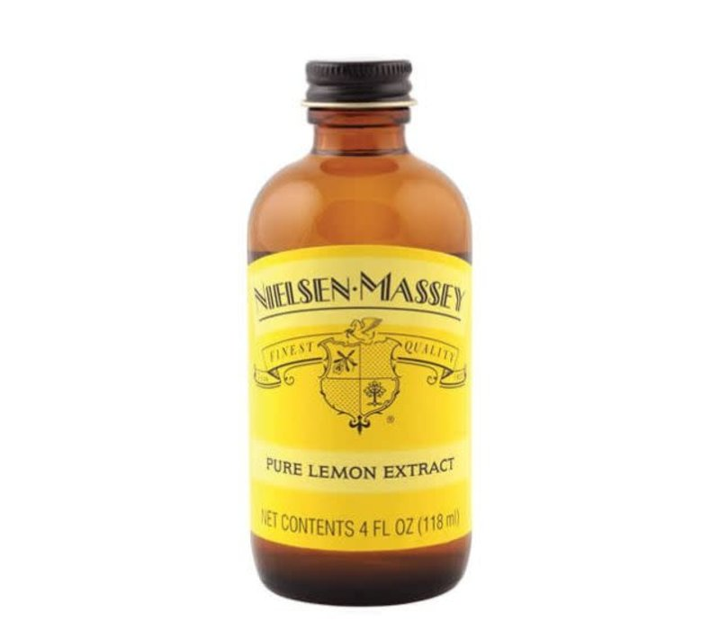 850049--Nielsen-Massey, Pure Lemon Extract 4 oz.