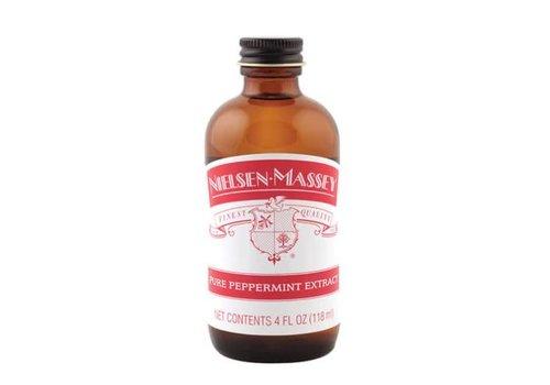 Nielsen-Massey 820042--Nielsen Massey, Pure Peppermint Extract 4 oz.