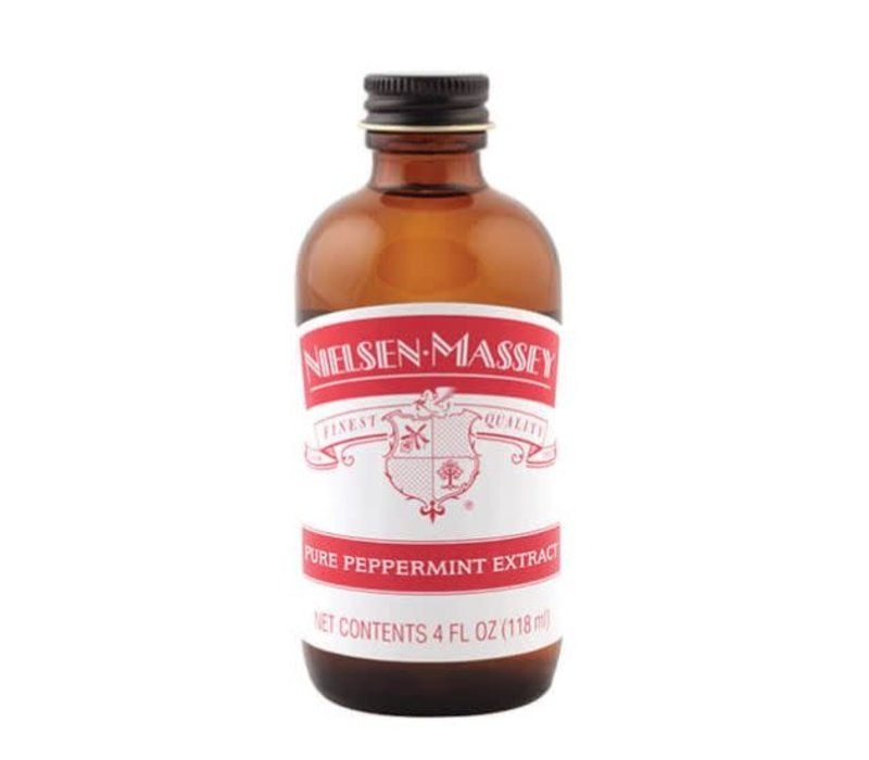 820042--Nielsen Massey, Pure Peppermint Extract 4 oz.