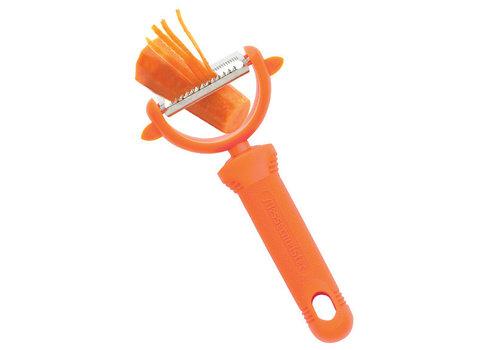 Messermeister 800-63/O--Messermeister, Pro-Touch Peeler - Orange