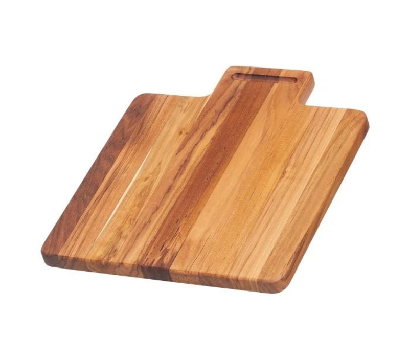 533 --TeakHaus, Marine Collection - Grooved Lip Handle - 12x10.5x.75