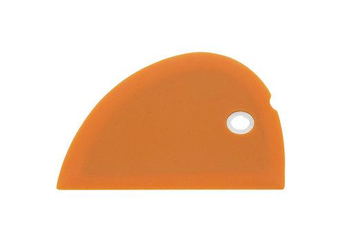 Messermeister SBS-O--Messermeister, Silicone Bowl Scraper, Orange