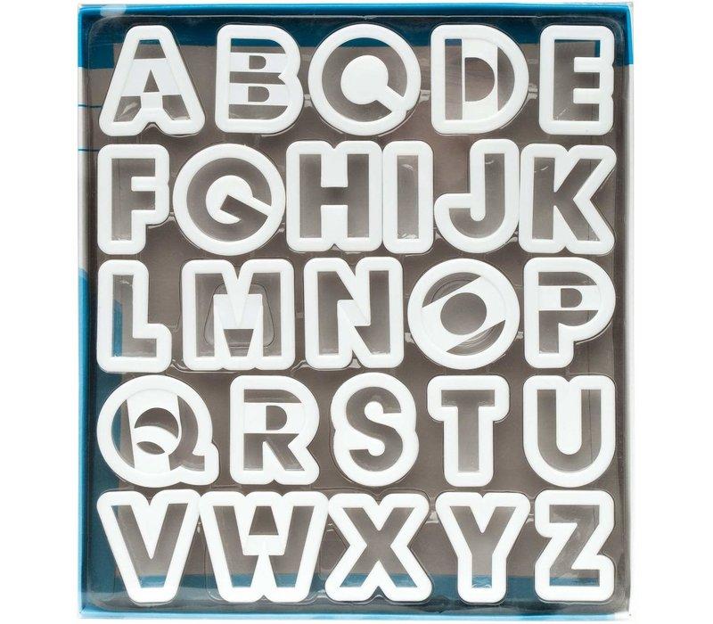 5770--Ateco, Alphabet Cutter Set