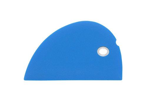 Messermeister SBS-BL--Messermeister, Silicone Bowl Scraper, Blue