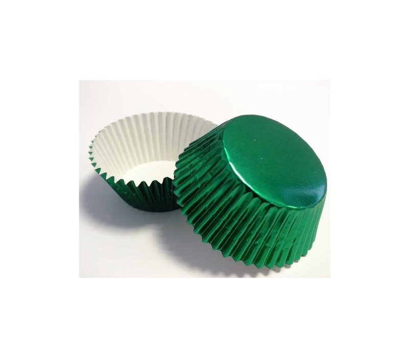 BC757--PME, Green Standard Baking Cups
