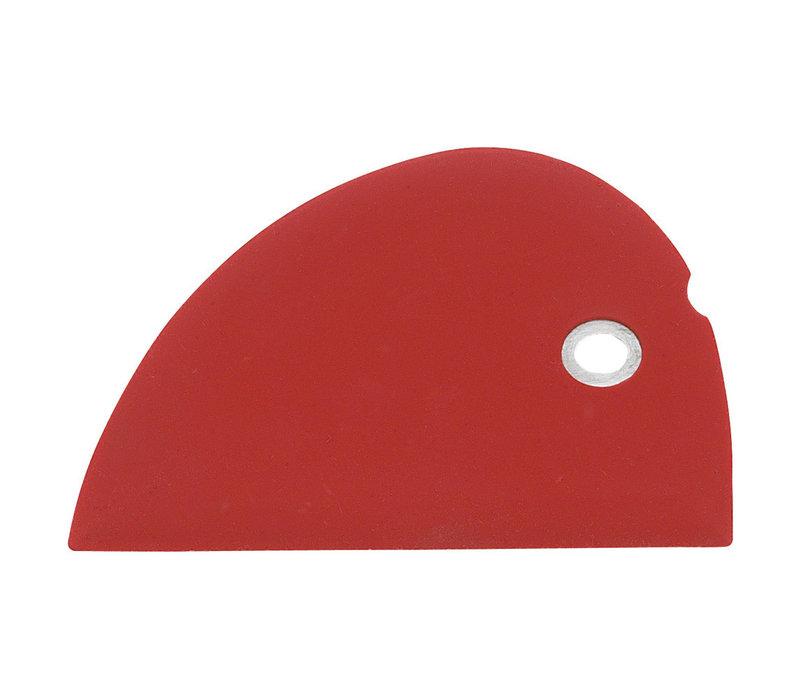 SBS-R--Messermeister, Silicone Bowl Scraper, Red