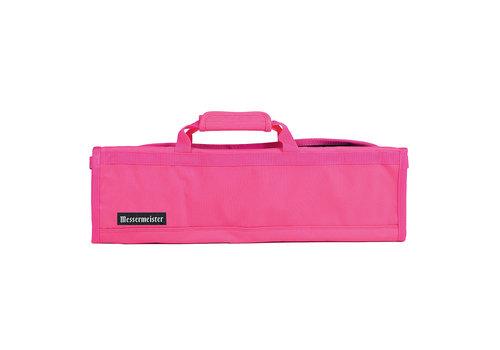 Messermeister 2066-8/P--Messermeister, Padded Knife Roll 8 Pocket, Pink
