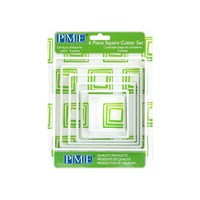 PNS4--PME, Square Cutter (Set of 6)