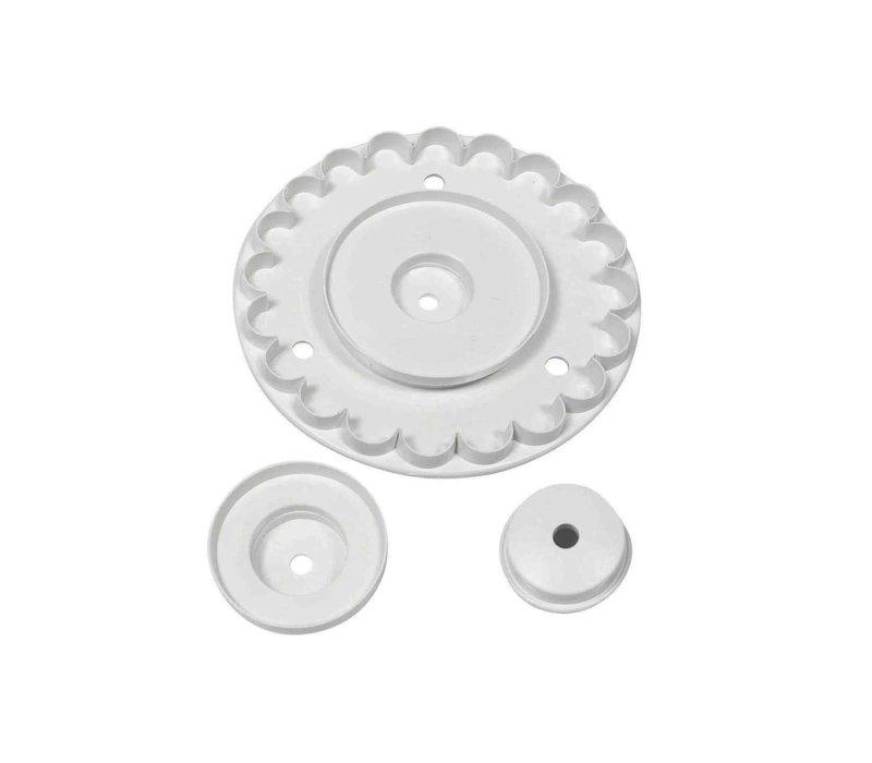 GF241--PME, Garret Frill Cutter (Set of 3)