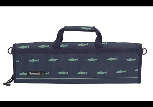 Messermeister 2088-8FP--Messermeister, Fish Print 8 Pocket Knife Roll